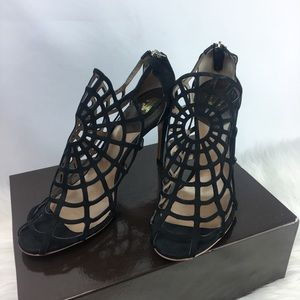Roberto Cavalli High Heel Spider Web NEVER WORN!
